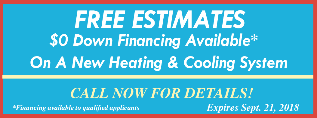 HVAC 0 Financing