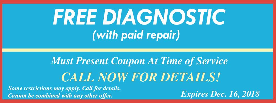 Free HVAC Diagnostic